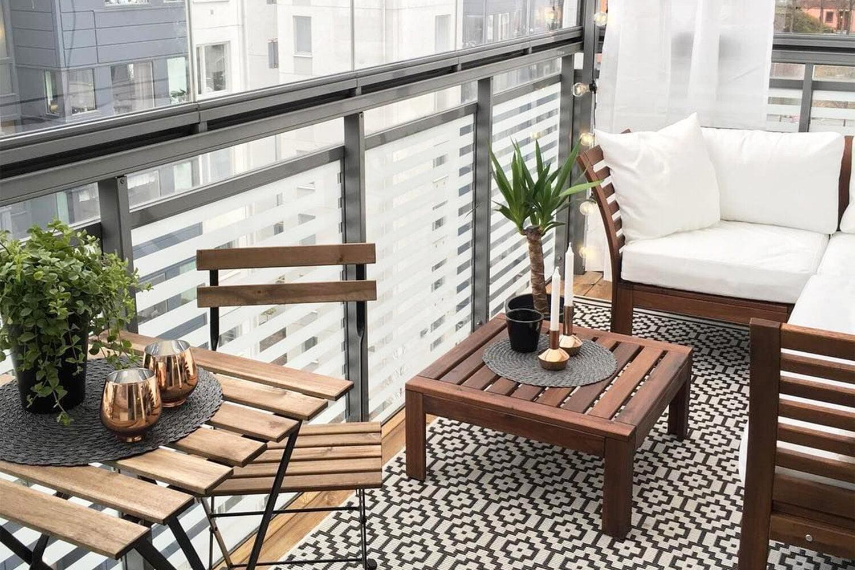 Küçük Balkonlar İçin Dekorasyon Önerileri