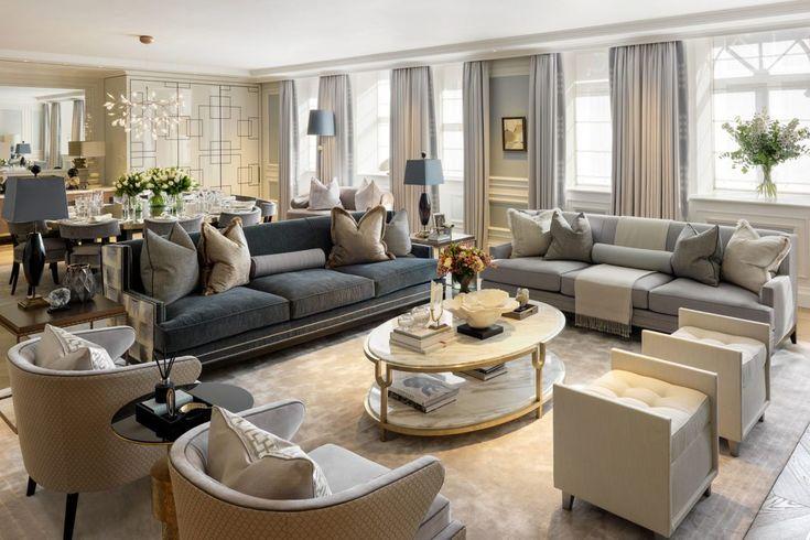 Klasik Oturma Odası Dekorasyonu Nasıl Olmalı?