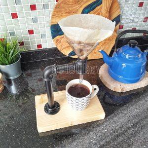 filtre kahve demleme seti
